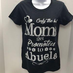 Abuela Black T-Shirt size Small